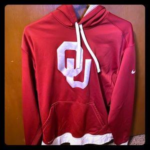 Thermal Nike Oklahoma Sooner hoodie